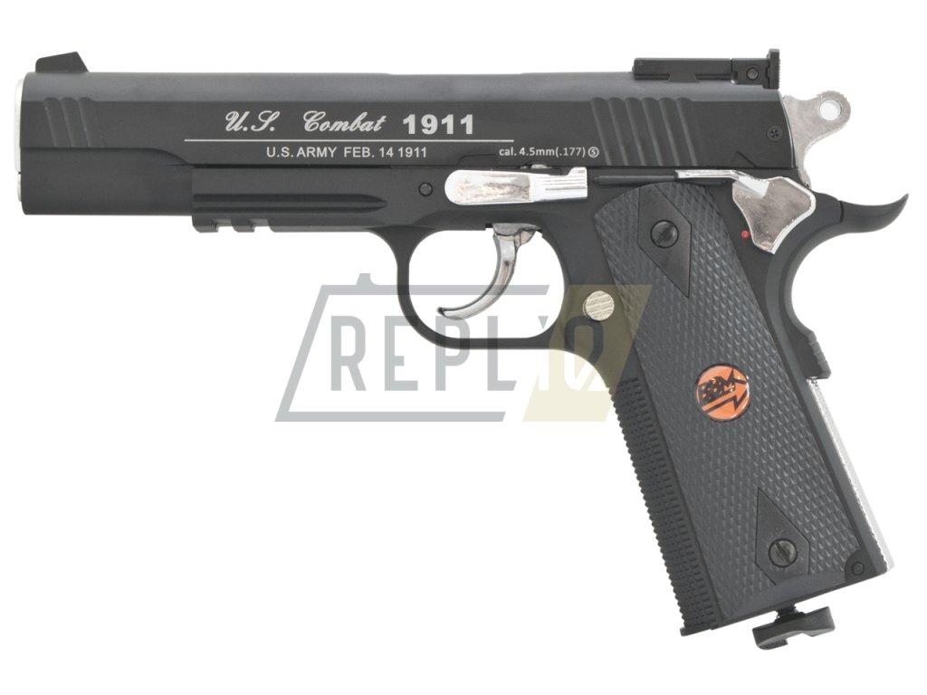Vzduchová pistole Bruni US Combat 1911 M černá