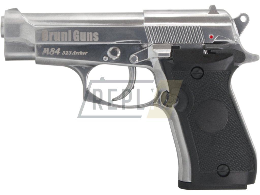 Vzduchová pistole Bruni M84 323 Archer chrom