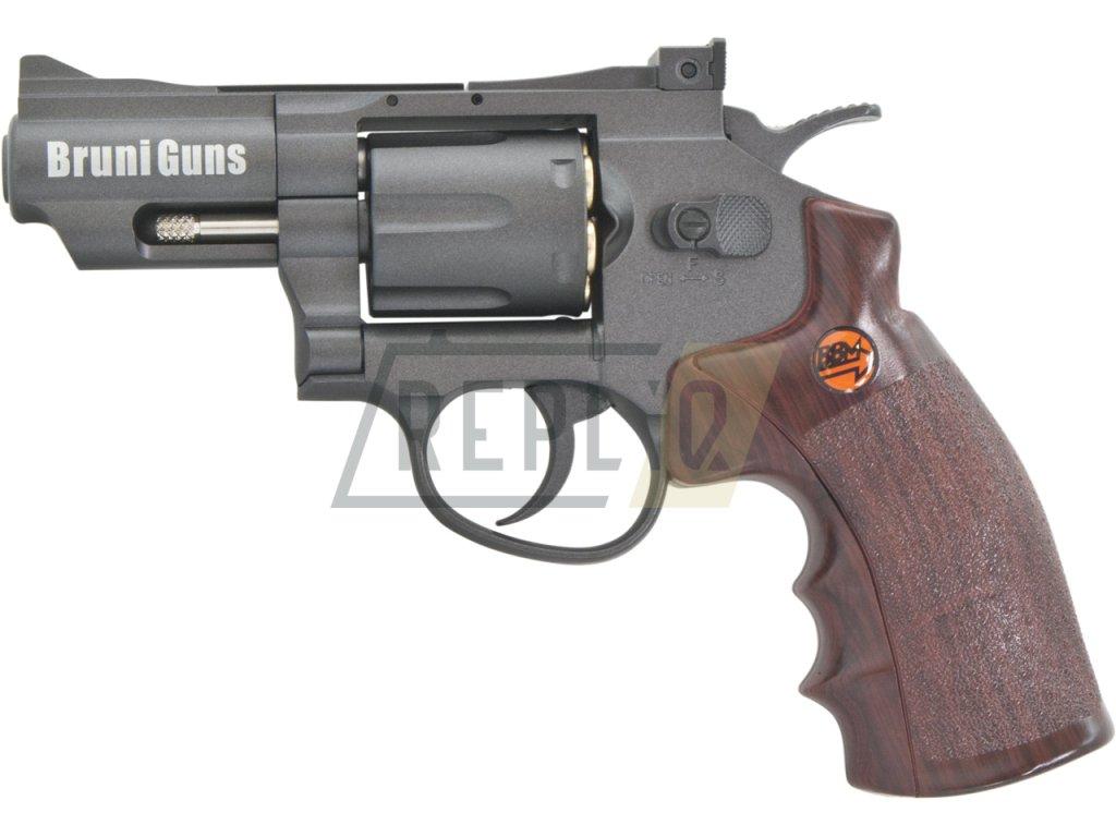 Vzduchový revolver Bruni Super Sport 708 černý 4,5mm