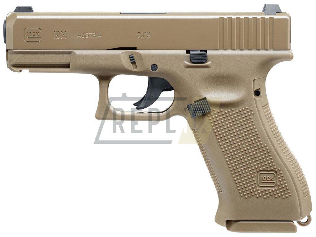 Vzduchová pistole Glock 19X