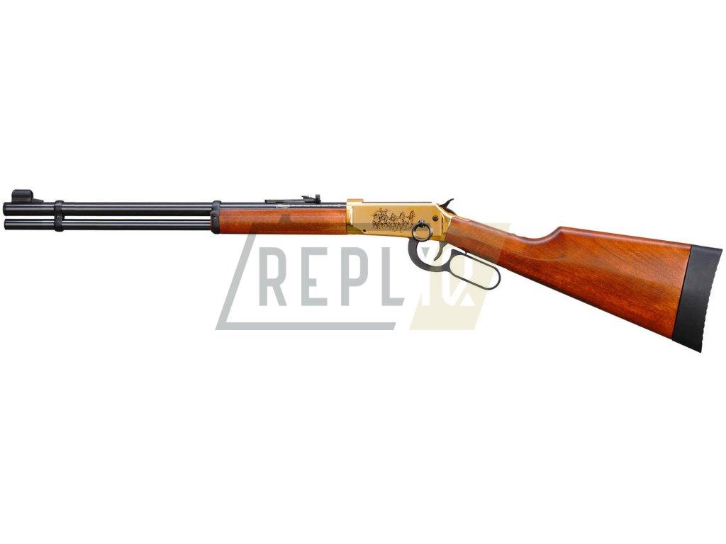 Vzduchová puška Walther Lever Action Long zlatý