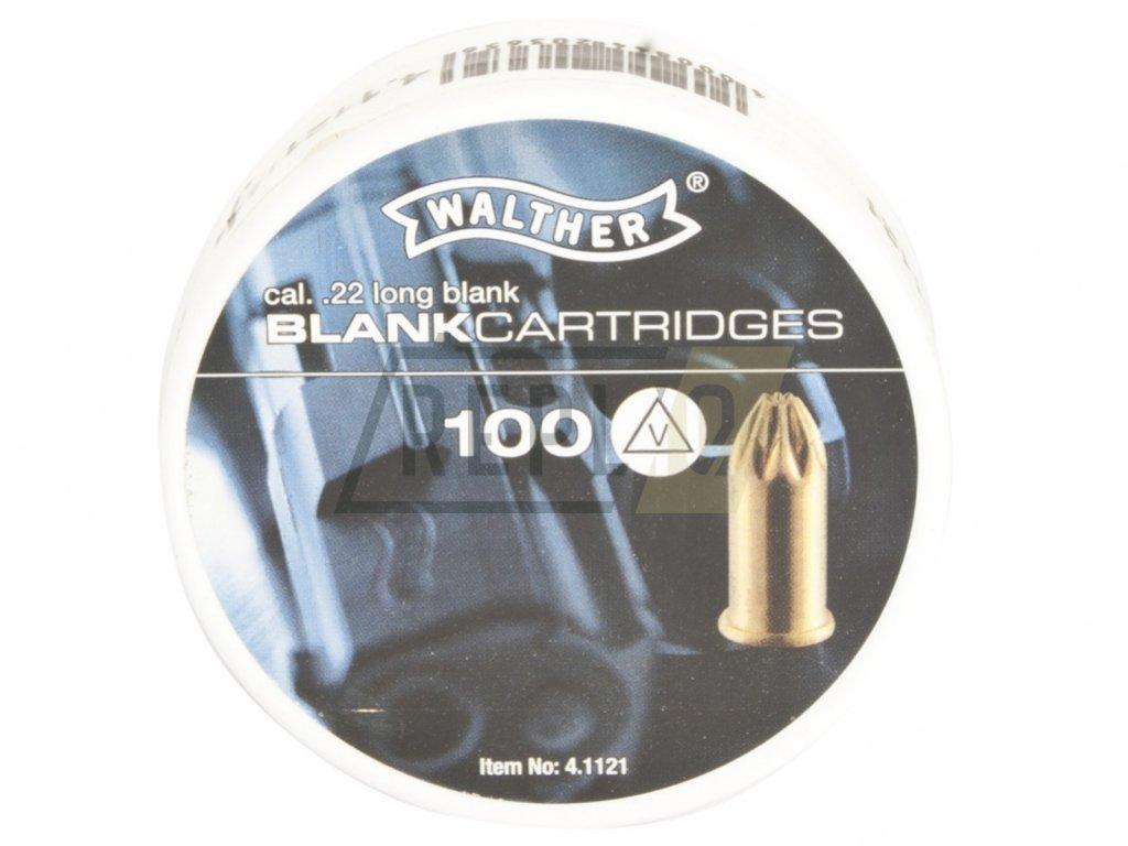 Startovací náboje Walther 6mm Long 100ks