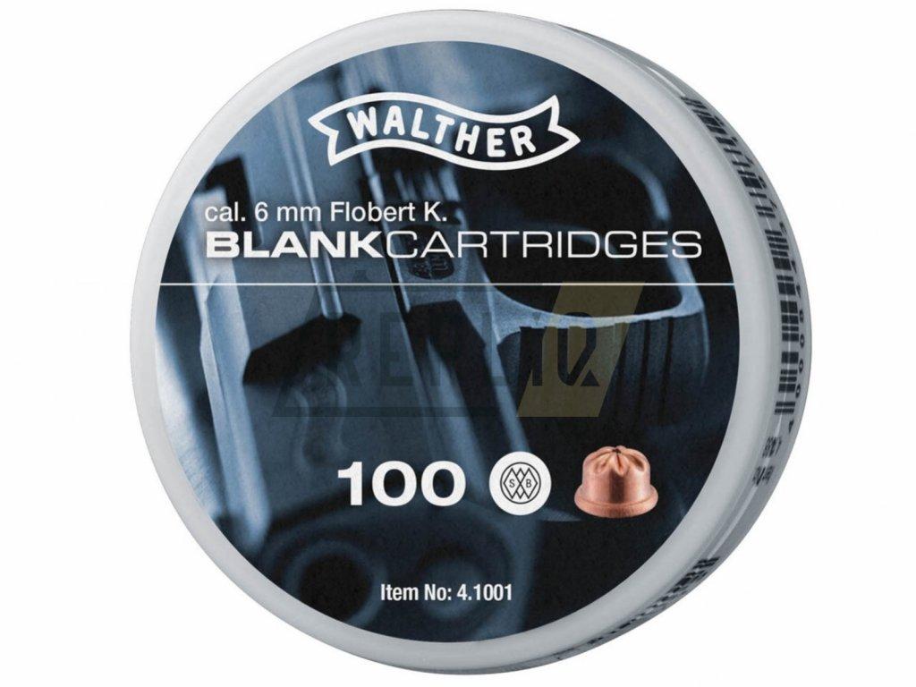 Startovací náboje Walther 6mm short 100ks