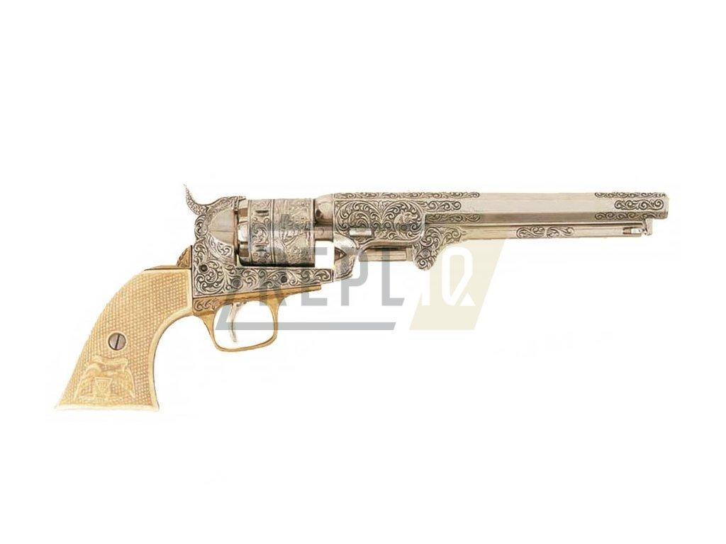 Revolver americké armády 1851 (imitace slonoviny)