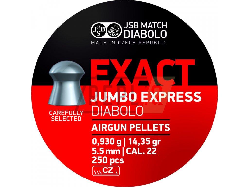 Diabolo JSB Exact Jumbo Express 5,52mm 250ks