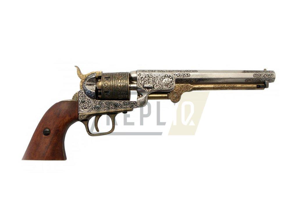 Revolver americké armády 1851 (mosaz)