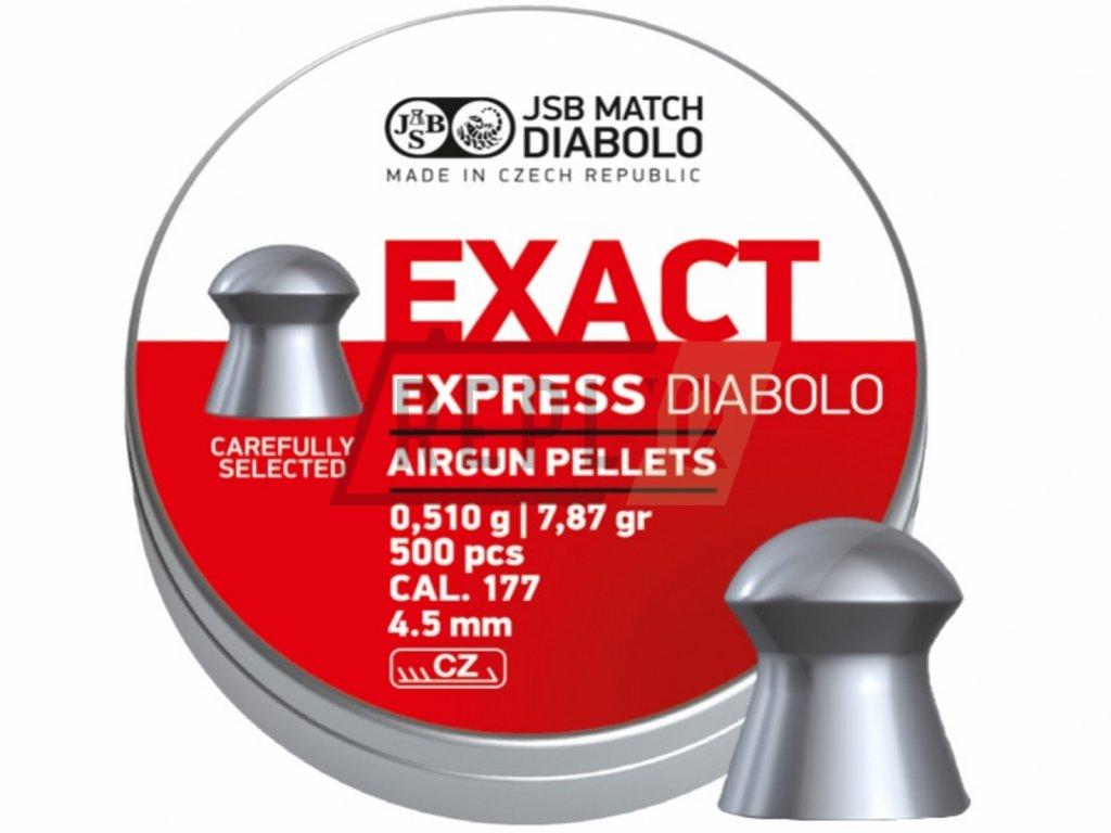 Diabolo JSB Exact Express 4,52mm 500ks