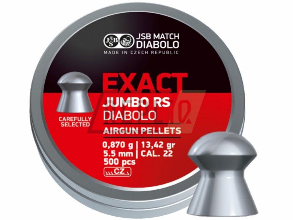 Diabolo JSB Exact Jumbo RS 5,52 500ks