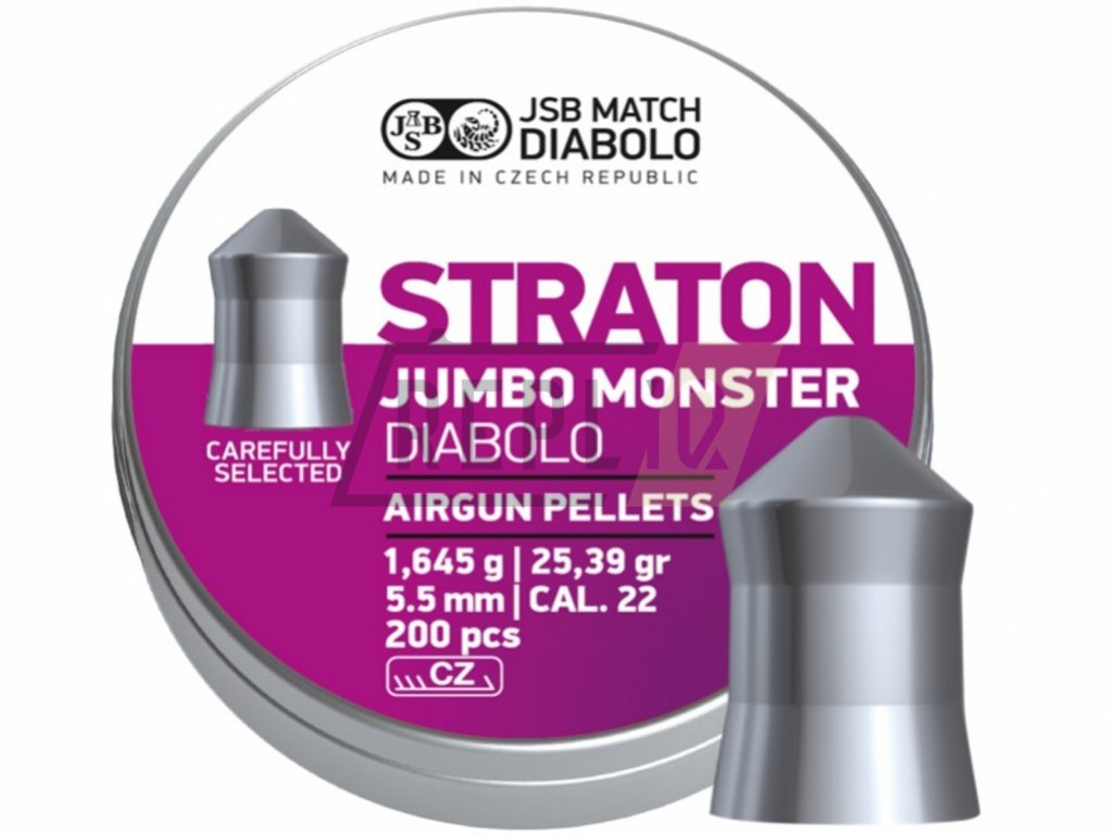 Diabolo JSB Straton Jumbo Monster 5,51mm 200ks