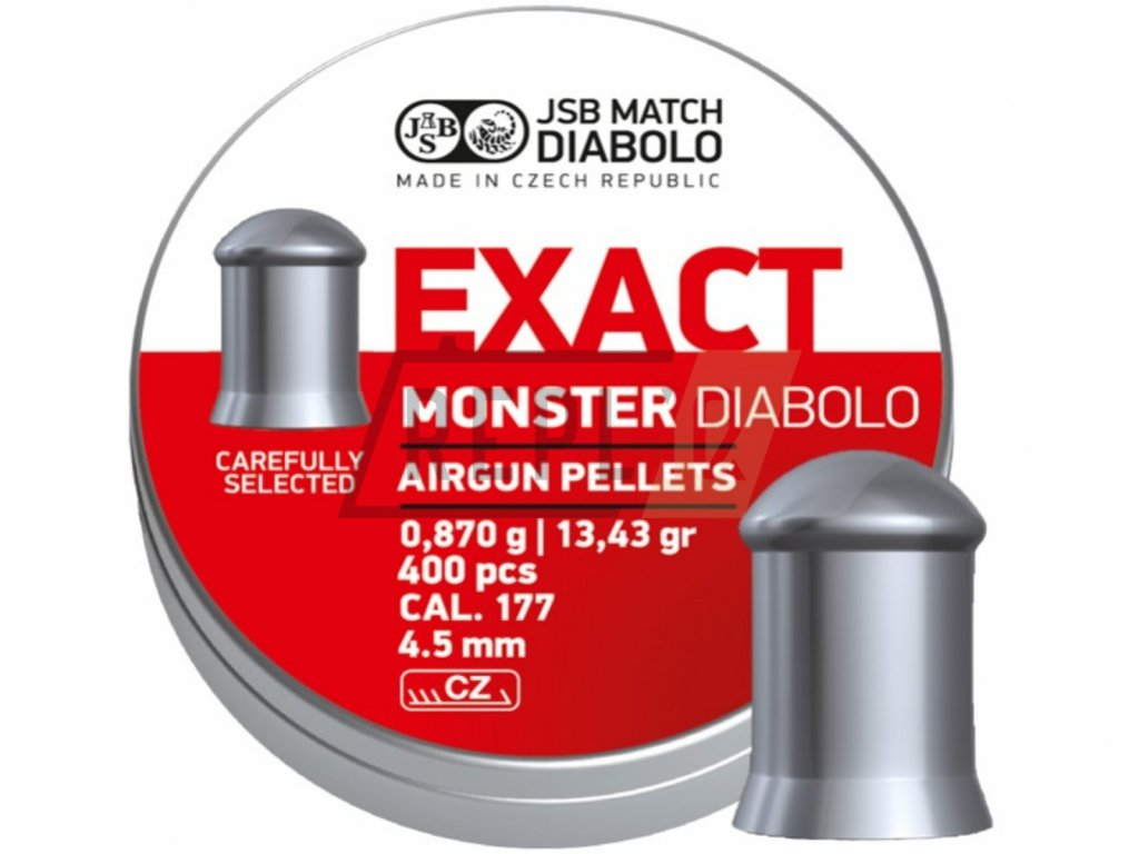 Diabolo JSB Exact Monster 4,52mm 400ks