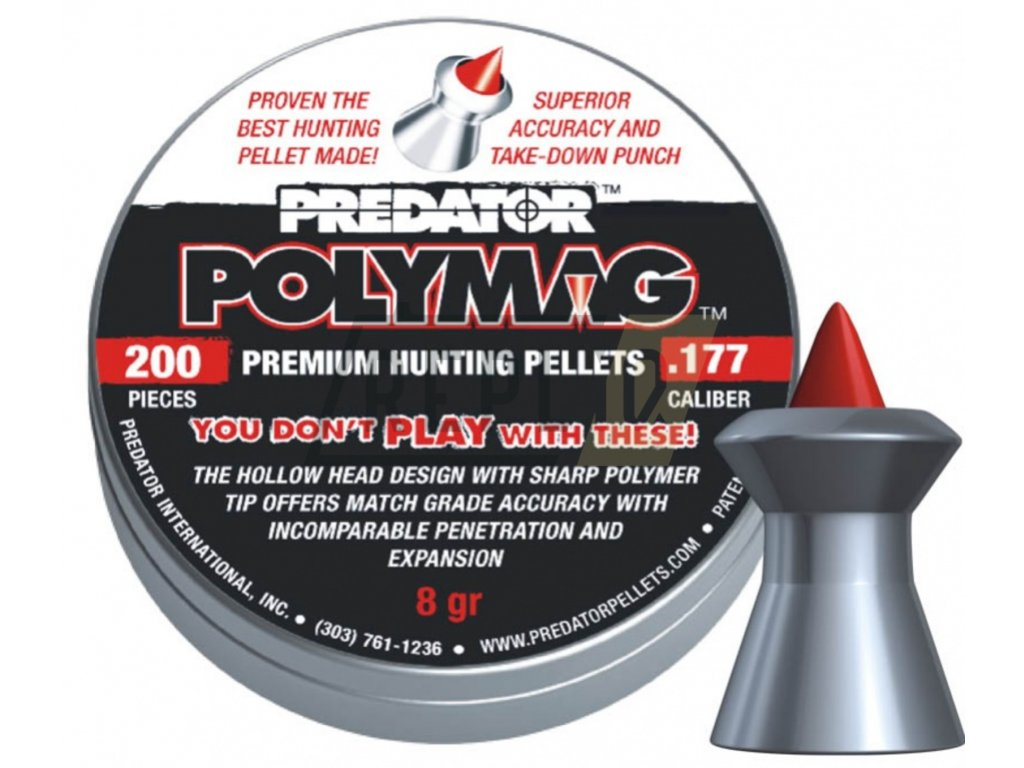 Diabolo JSB Predator Polymag 4,5mm 200ks