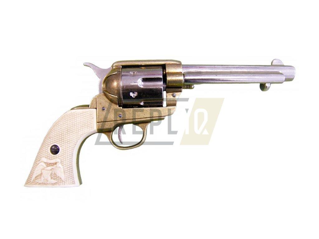 Revolver ráže 45, USA 1873, 5 1/2' (mosaz)