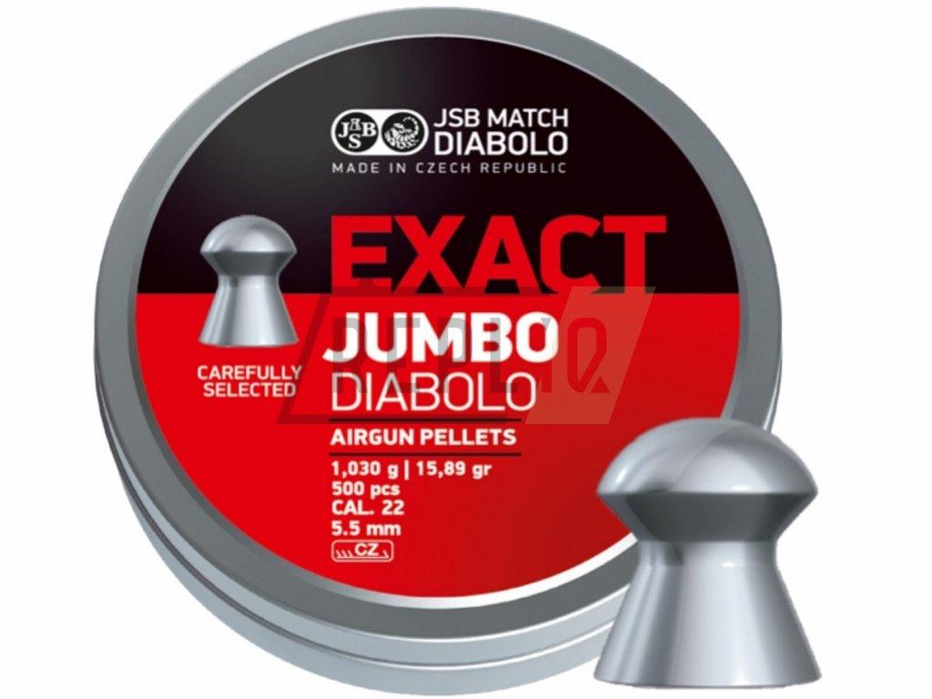 Diabolo JSB Exact Jumbo 5,52mm 250ks