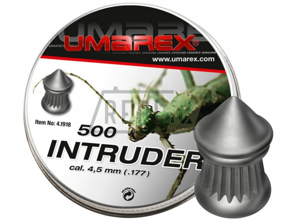 Diabolo Umarex Intruder 500ks cal. 4,5mm