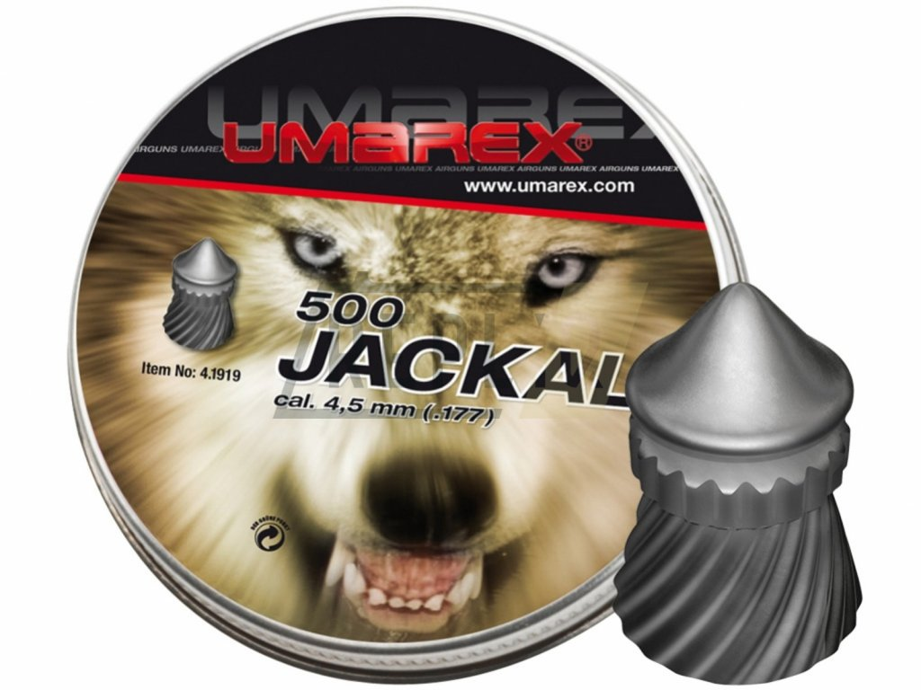Diabolo Umarex Jackal 500ks cal.4,5mm