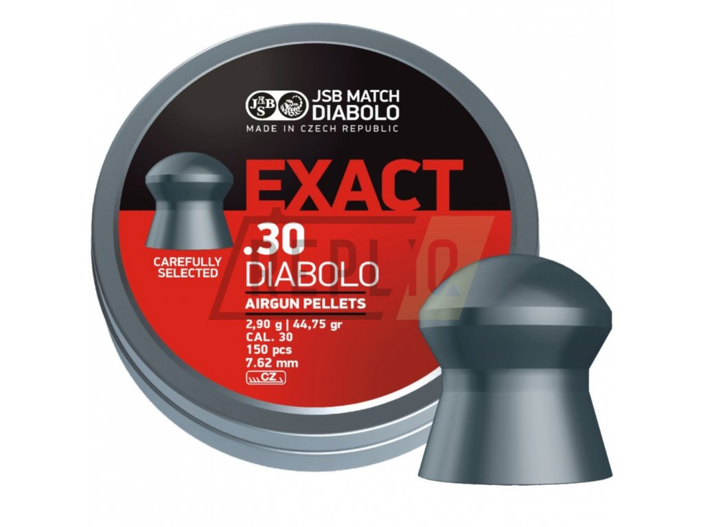 Diabolo JSB Exact 7,62mm 3,25g 150ks