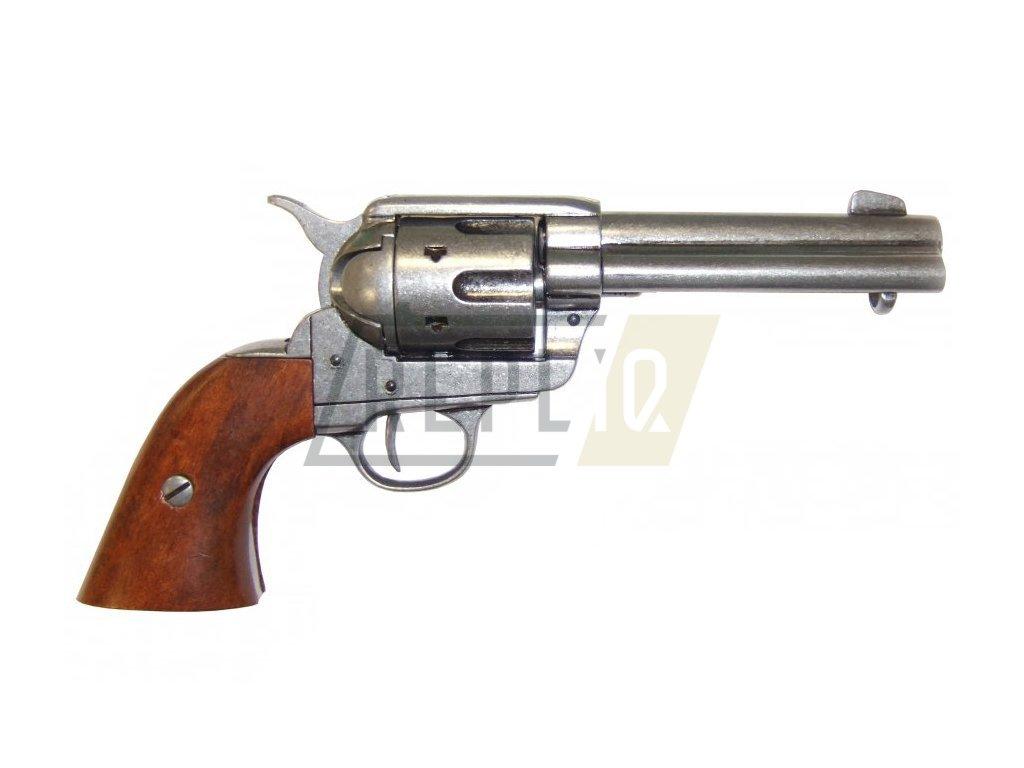 "Revolver cal.45 PEACEMAKER 4,75"", USA 1873 (šedý)"