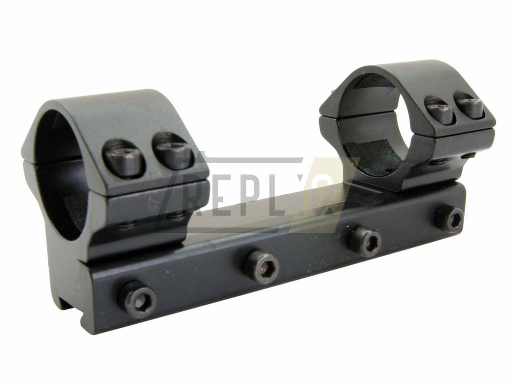 Montáž jednodílná 11mm / 25,4mm nízká Raven