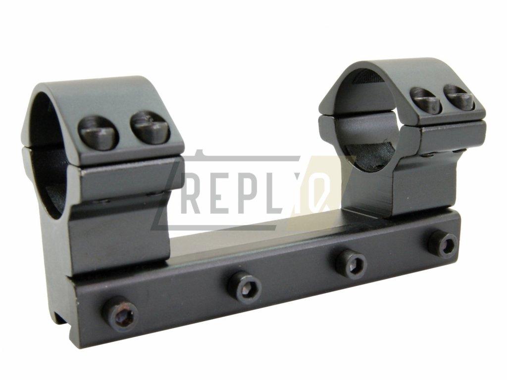Montáž jednodílná 11mm / 25,4mm vysoká Raven