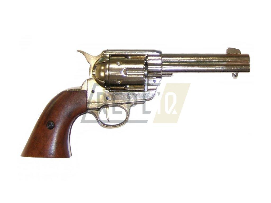 "Revolver cal.45 PEACEMAKER 4,75"", USA 1873 (nikl)"
