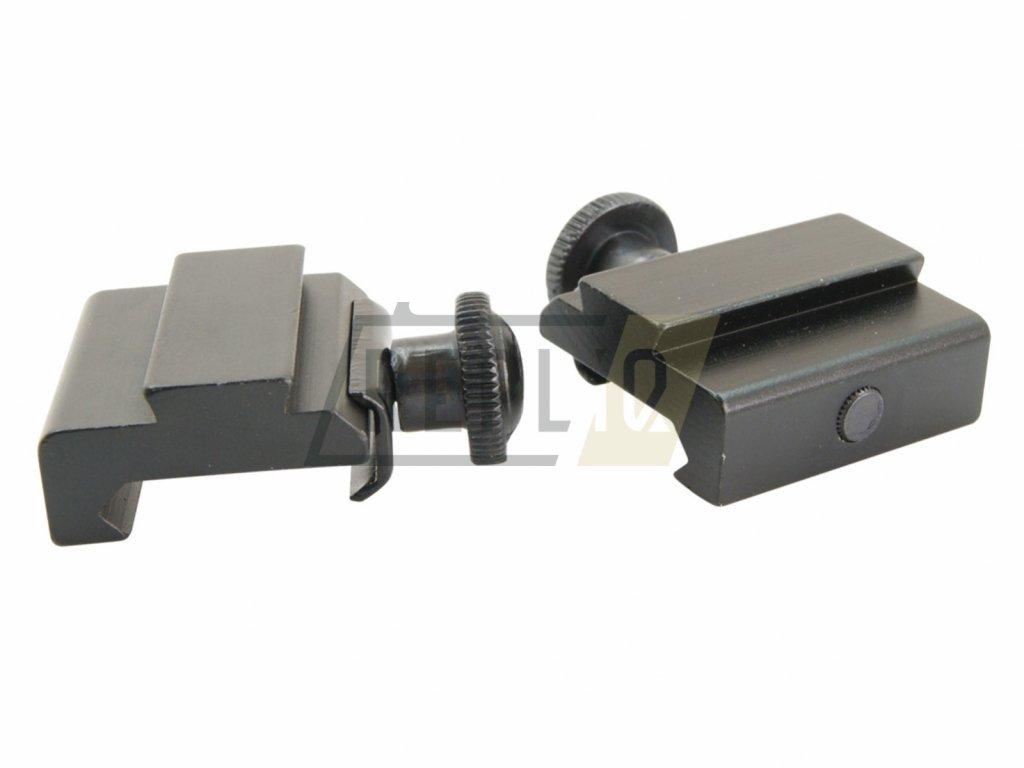 Adaptér montáže 22mm na 11mm dvoudílný Raven