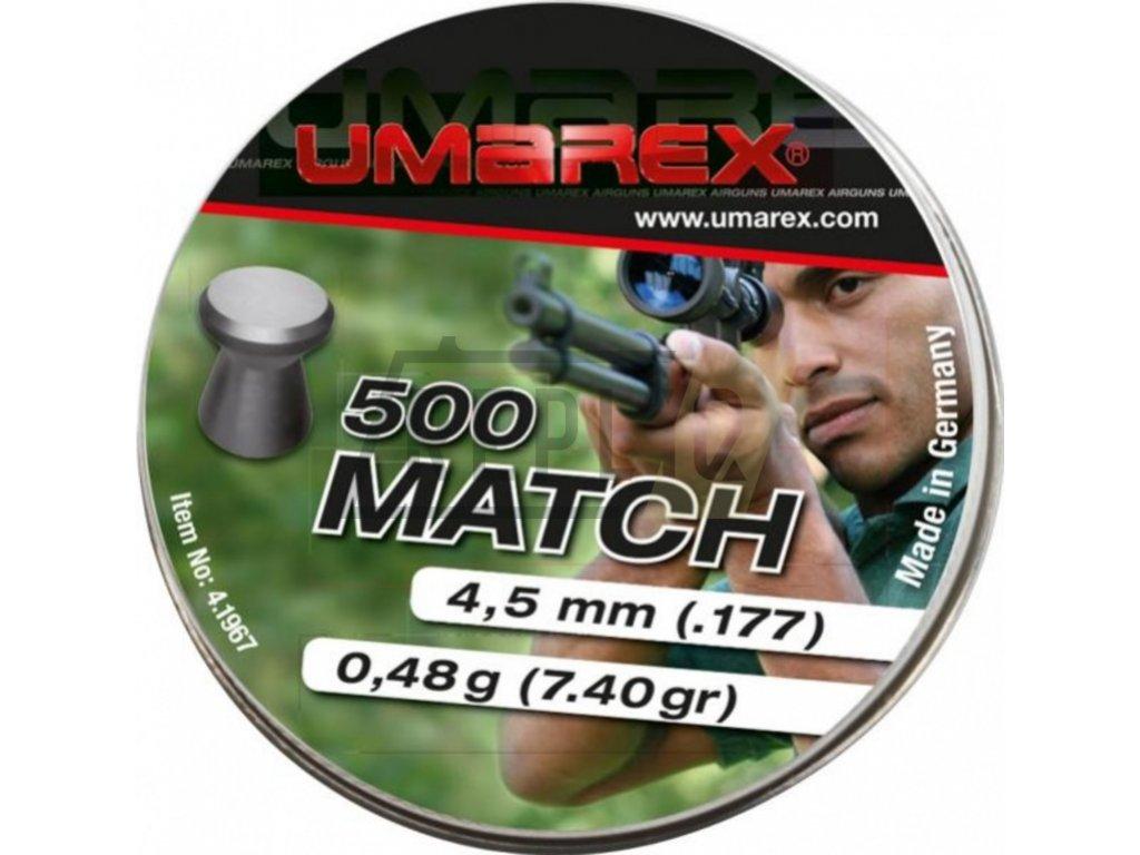 Diabolo Umarex Match Pro 4,5mm 500ks
