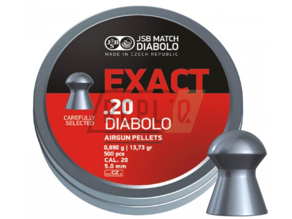 Diabolo JSB Exact 5,0mm 500ks
