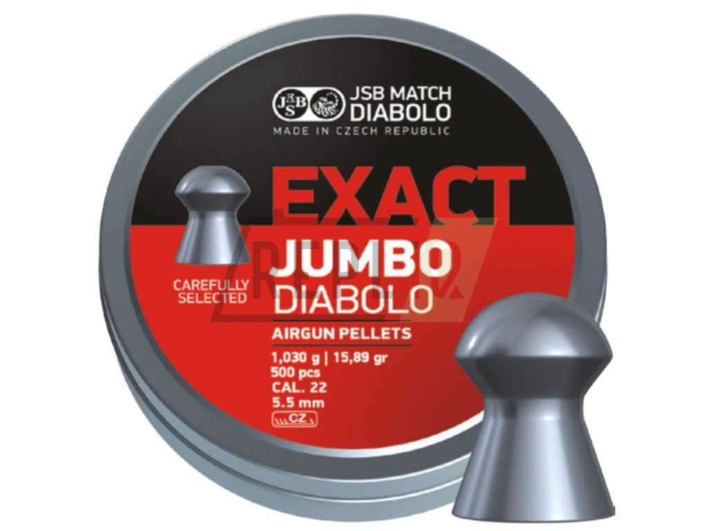 Diabolo JSB Exact Jumbo 5,50mm 500ks