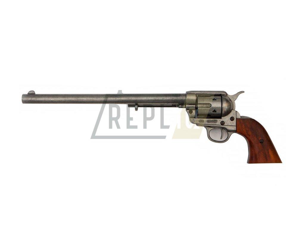 "Revolver cal.45 PEACEMAKER 12"", USA 1873 (šedý)"