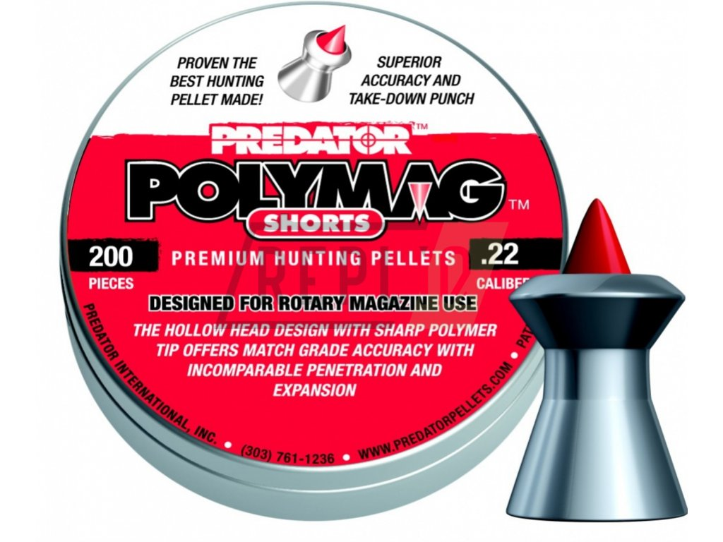 Diabolo JSB Predator PolyMag Shorts 5,5mm 200ks