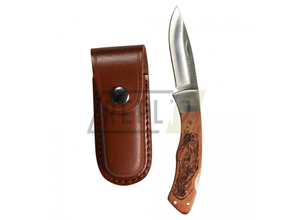 Nůž zavírací SHIRES FISH s pouzdrem