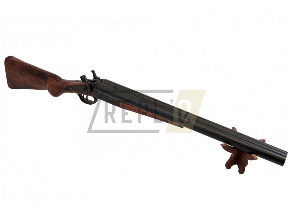 pol pl Denix 1115 replika double barrel shotgun 1868 Wyatt Earp 8672 7