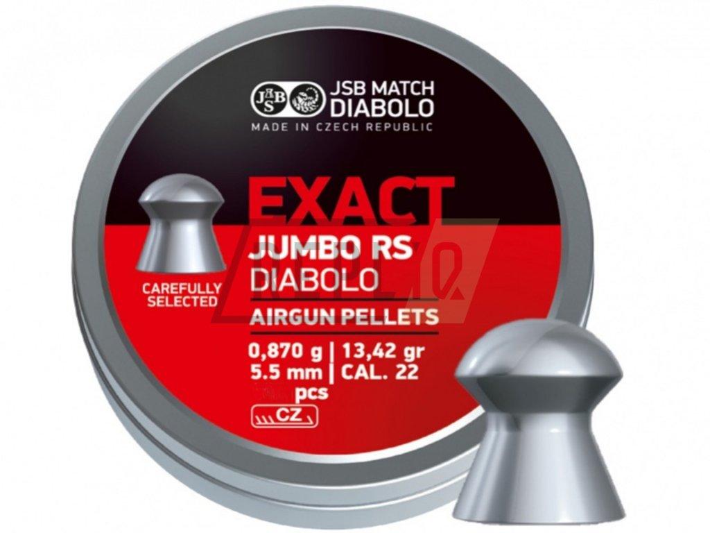 Diabolo JSB Exact Jumbo RS 5,52mm 250ks