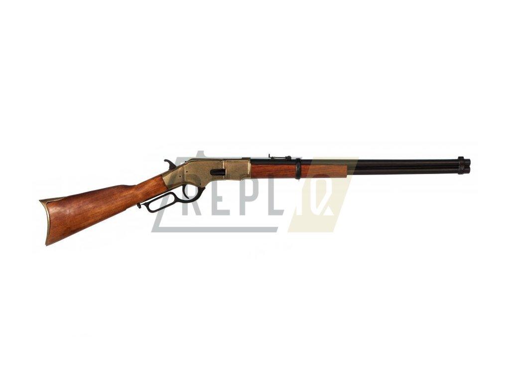 Puška Winchester mod.66 - USA 1866 (mosaz)