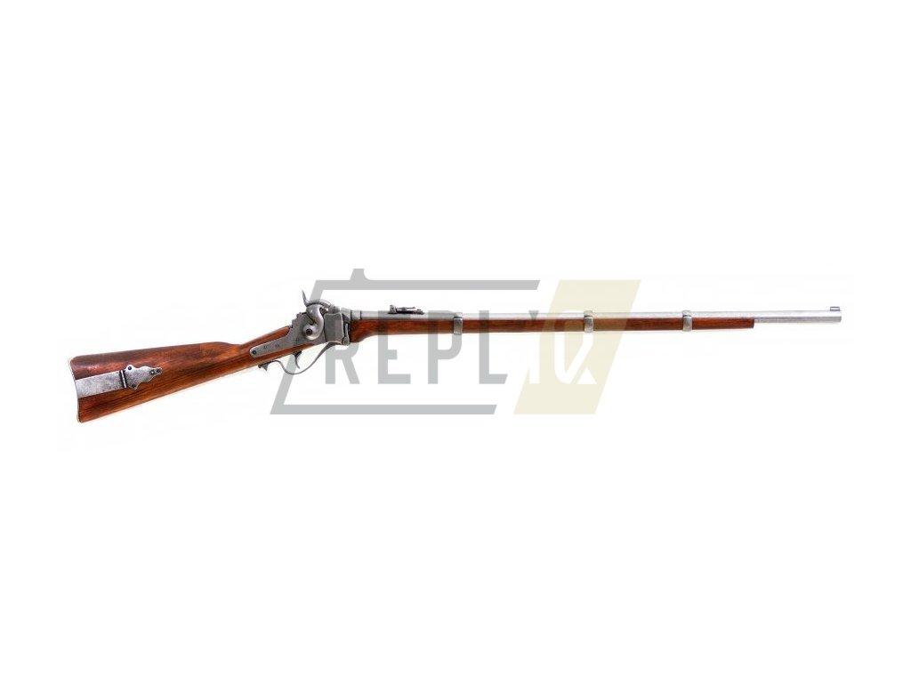 Puška vojenská Sharps - USA 1859