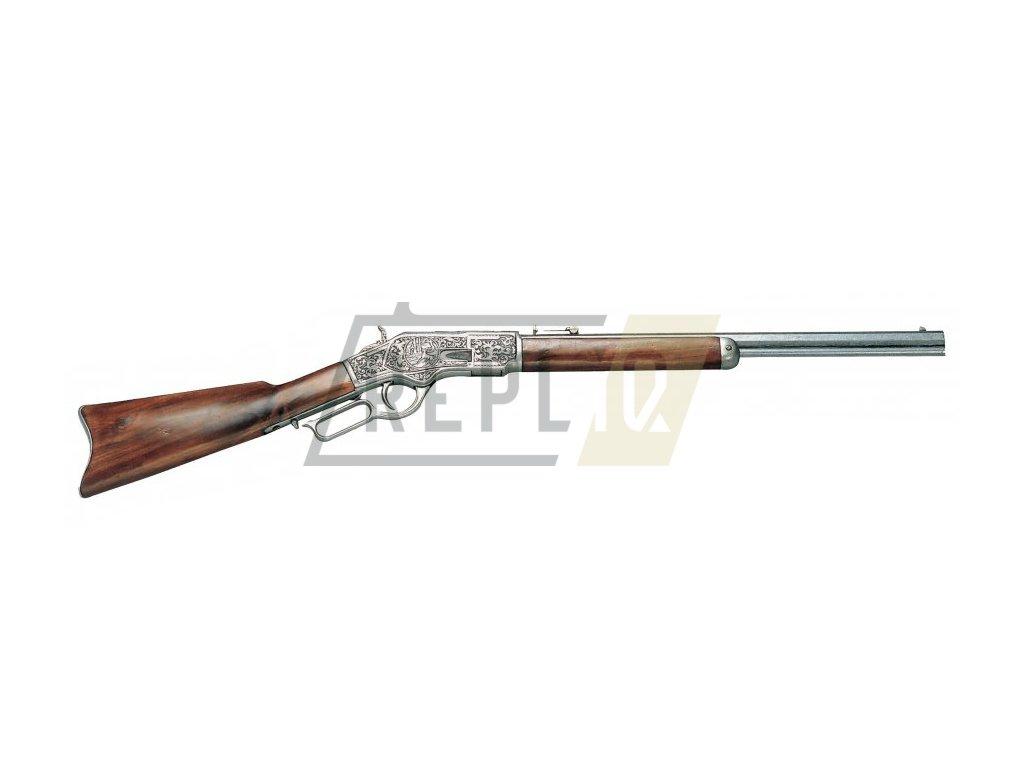 Puška Winchester mod.73 - USA 1873 (šedá)  + Voucher na další nákup