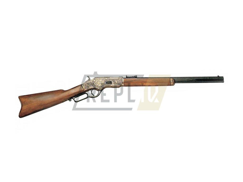 Puška Winchester mod.73 - USA 1873 (měď a černá)