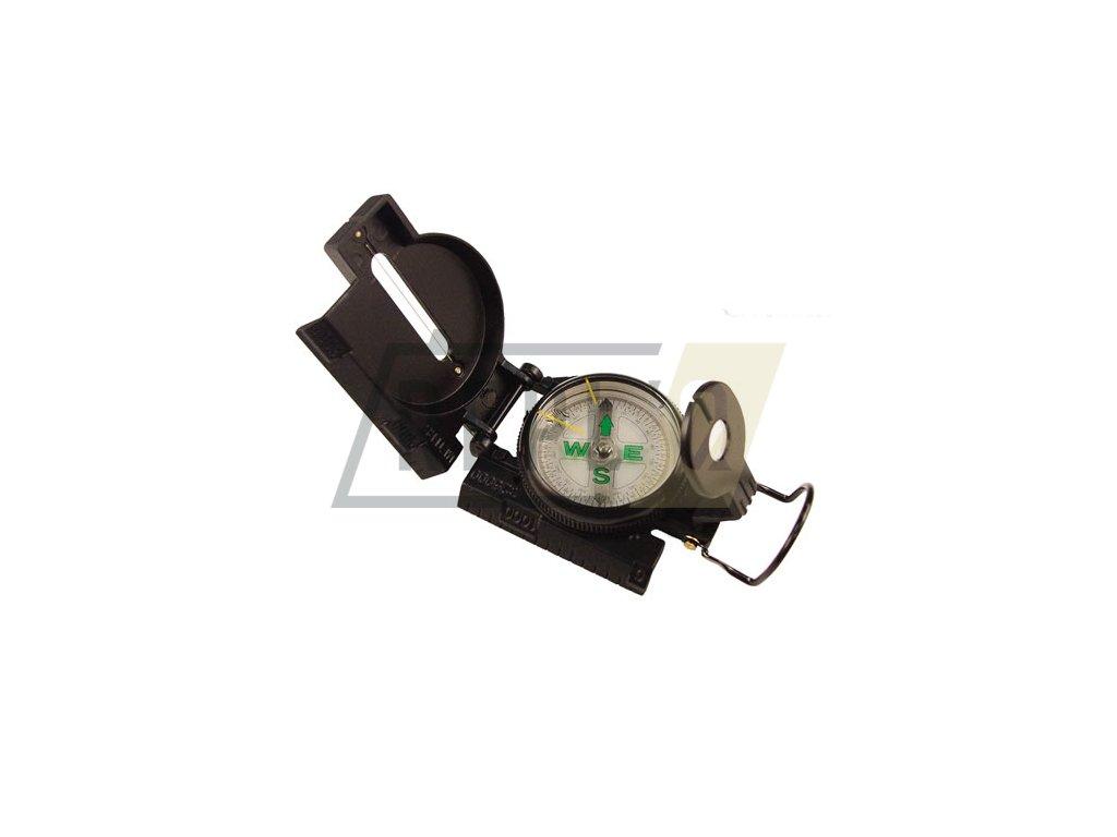 Kompas TACTICAL MARCHING kovové tělo ČERNÝ