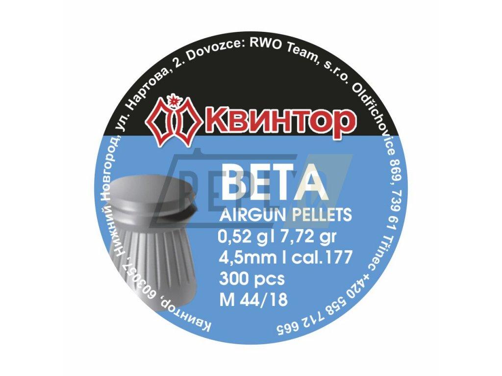 Diabolo Kvintor Beta 4,5mm 300ks
