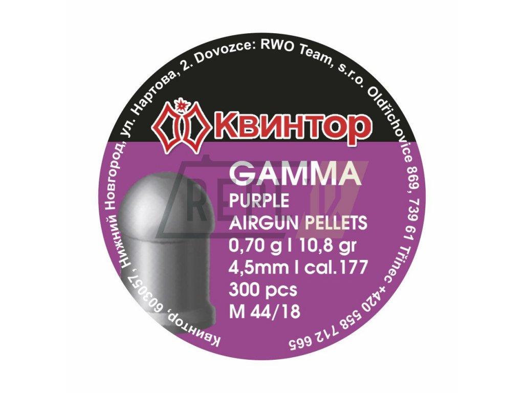 Diabolo Kvintor Gamma Purple 4,5mm 300ks