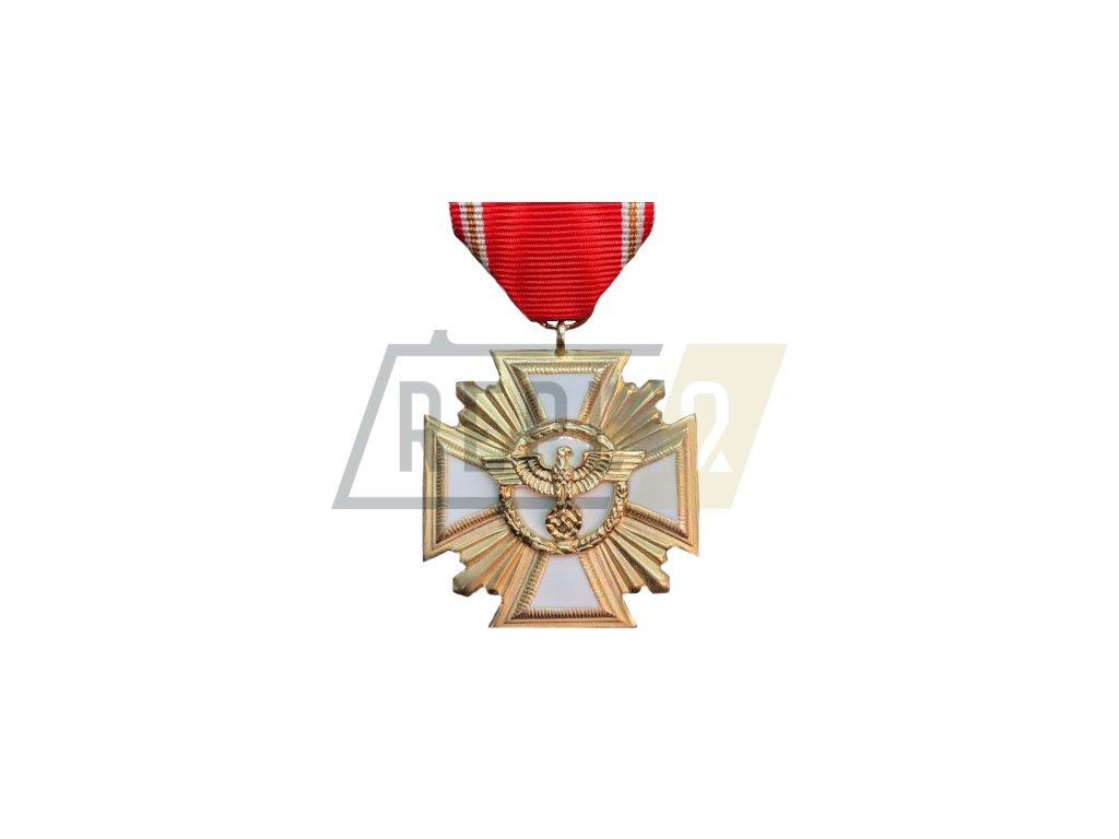 long service nsdap medal 1st class 25 years gold