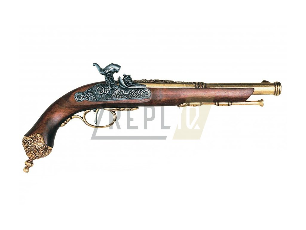 denix Percussion pistol Brescia Italia 1825 (1)