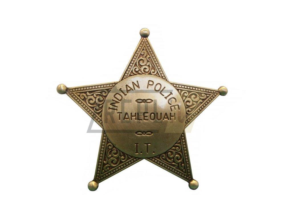 Odznak indiánské policie