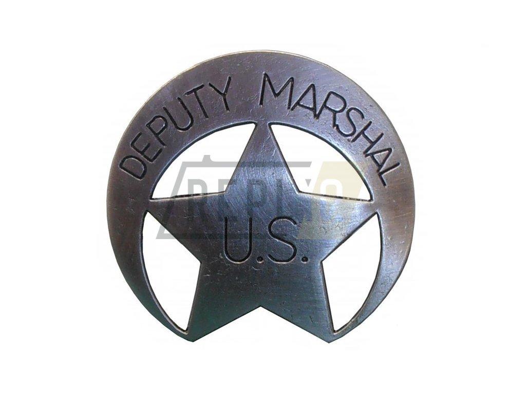 Hvězda zástupce šerifa - DEPUTY MARSHAL
