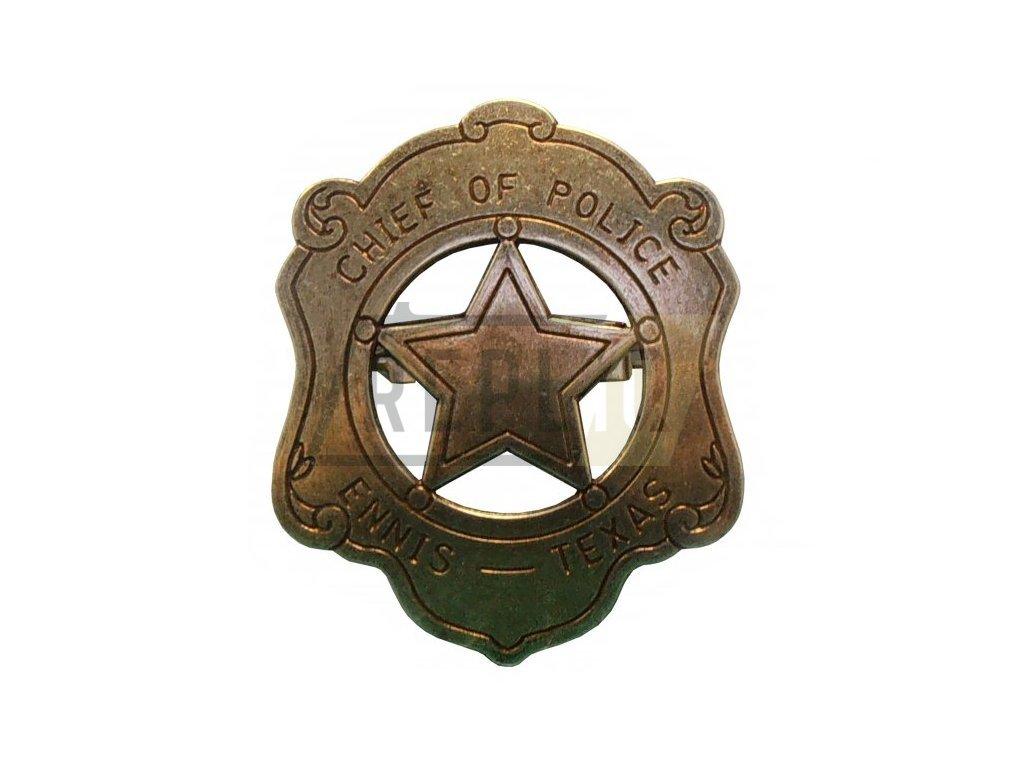 Šéf policie - Ennis Texas