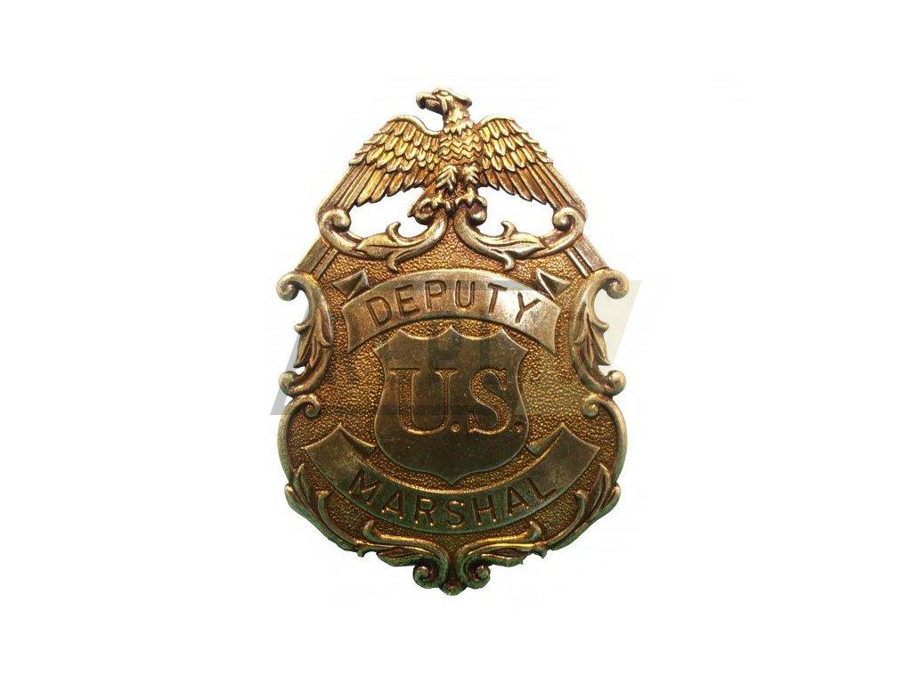 Hvězda zástupce šerifa DEP. MARSHAL (L)