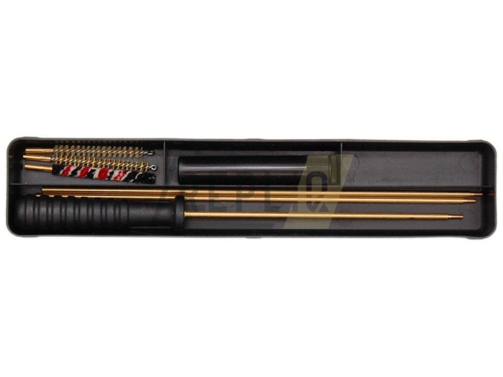 Čištění mosazné v krabičce cal.4,5mm