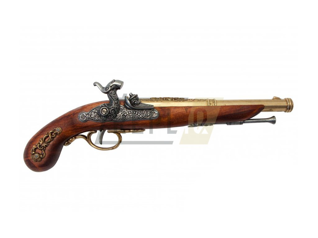 denix Percussion pistol France 1832 (1)