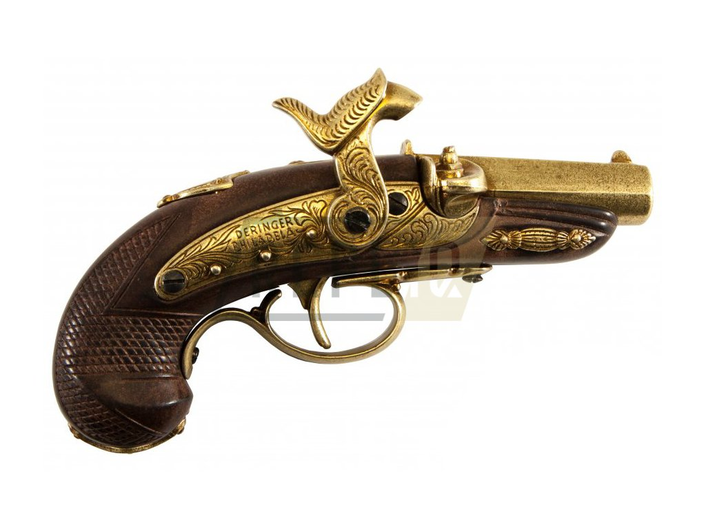 denix Percussion Philadelphia Deringer pistol USA 1862
