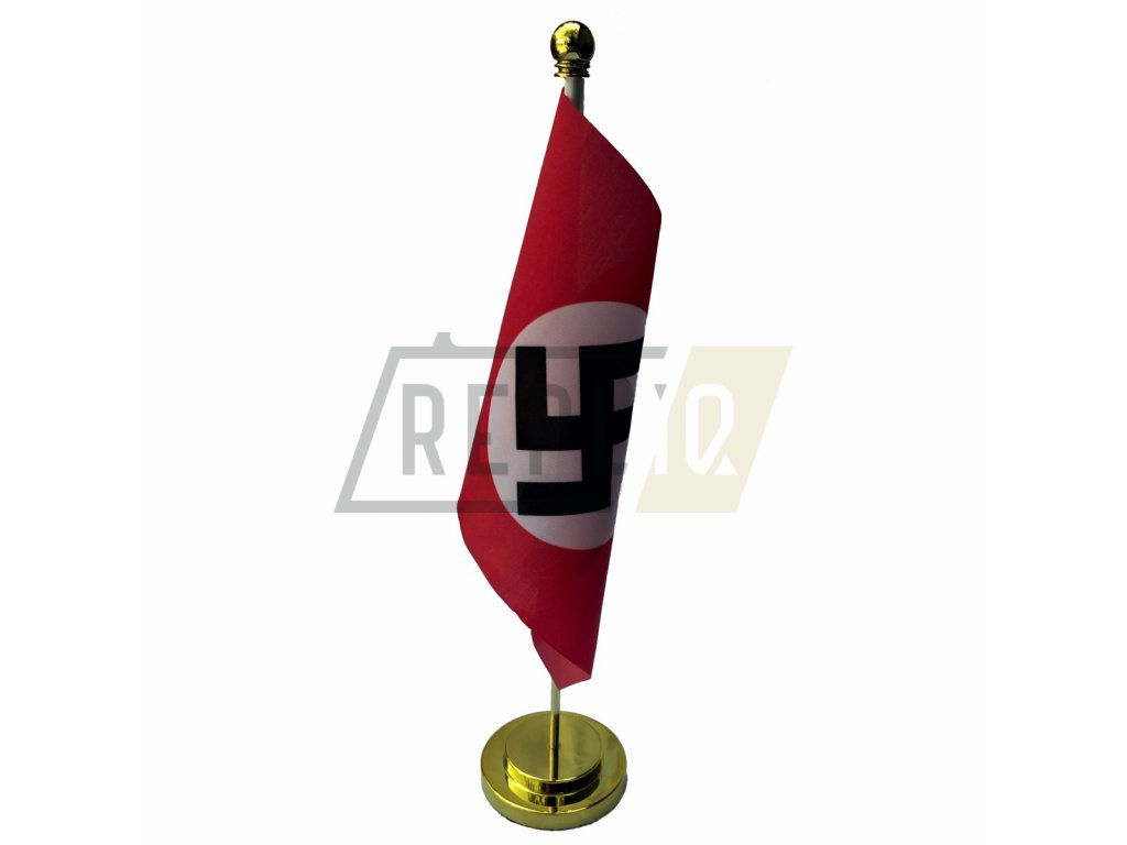 metal base table flag nsdap